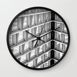 Pattern over the Pavillion Wall Clock