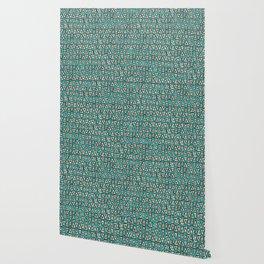 shakal turquoise Wallpaper