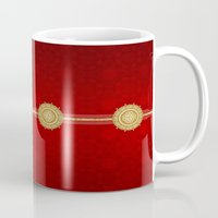 egypt Mugs featuring Egypt by Zohayma Montañer