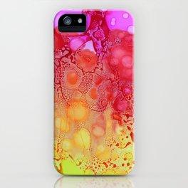 Pink Rain iPhone Case