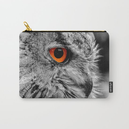 ORANGE OF MY EYE Carry-All Pouch