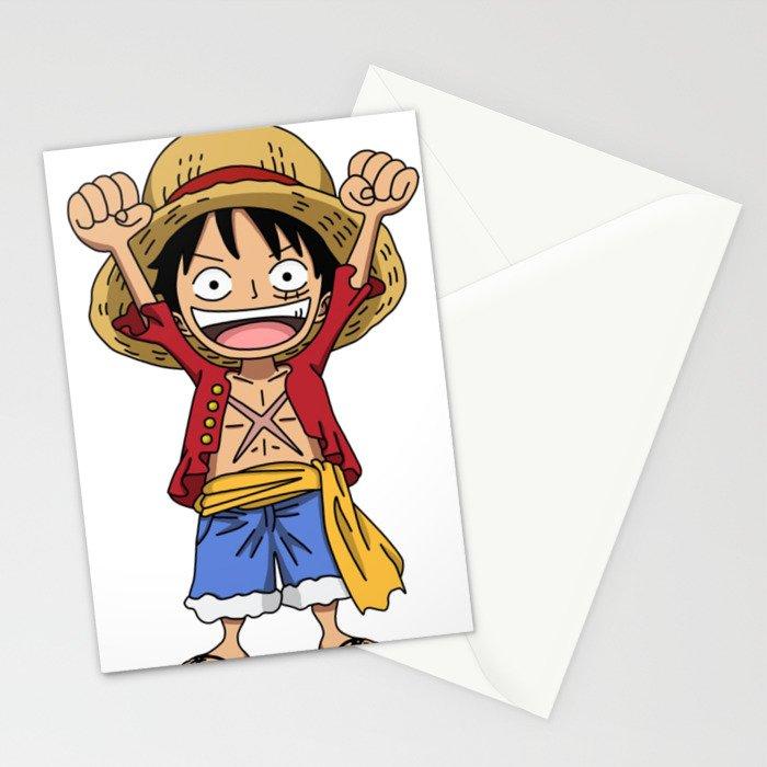 Monkey D. Luffy Stationery Cards