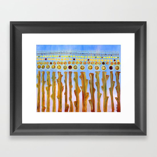 :: Indiana Corn :: Framed Art Print
