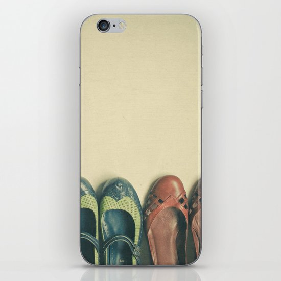 The Shoe Collection iPhone & iPod Skin
