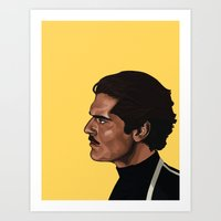 ali Art Prints featuring ALI by jeremia