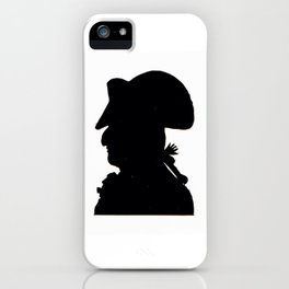 Pirate silhouette iPhone Case