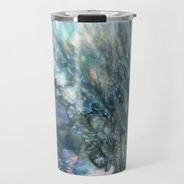 Sea Dog Abstract Travel Mug