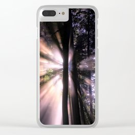 Follow the Light Clear iPhone Case