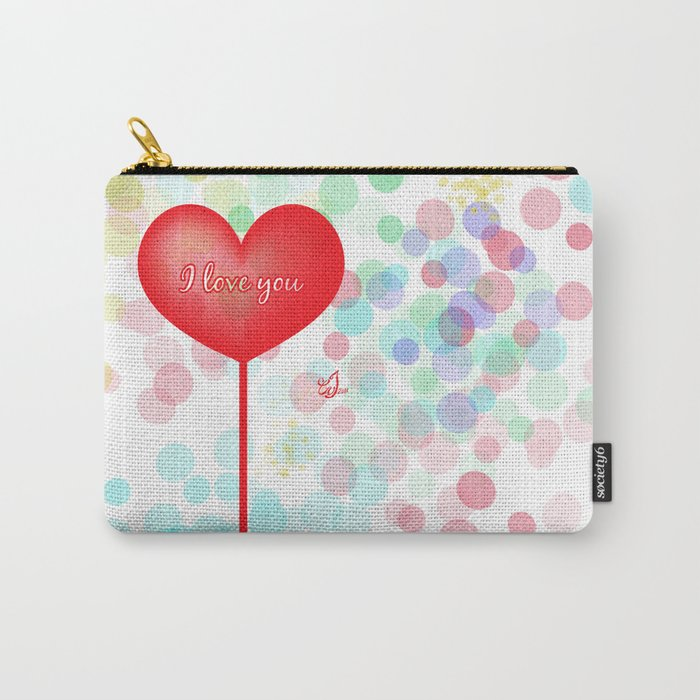 I Love You Carry-All Pouch