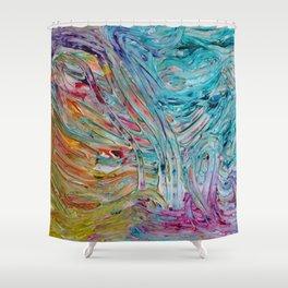 Rainbow Gelato Shower Curtain