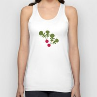 vegetable Tank Tops featuring Vegetable Medley by Veronica Galbraith