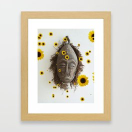 Lead Me To The Sunshine Framed Art Print