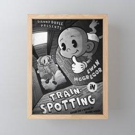 Trainspotting Framed Mini Art Print
