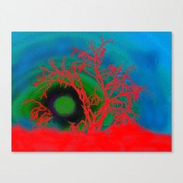 Desert Rising Canvas Print