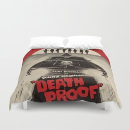 Death Proof Movie Poster Written And Directed By Quentin Tarantino Spanish Version Artwork, Posters, Duvet Cover