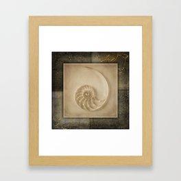 GOLDEN SEA PART 3 Framed Art Print