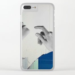 Cracked Clear iPhone Case