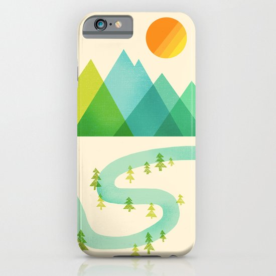 Bend in the River iPhone & iPod Case