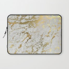 Gold marble Laptop Sleeve