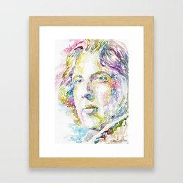 Oscar Wilde Framed Art Print