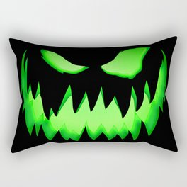 Halloween pumpkin Undead Rectangular Pillow