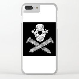 American Folklore Clear iPhone Case