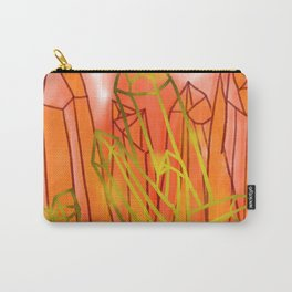 Crystals - Orange Carry-All Pouch