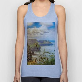 Cliffs of Moher (2) Unisex Tank Top