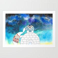Love Under The Stars Art Print