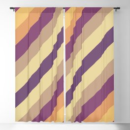 Colorful Lines Blackout Curtain
