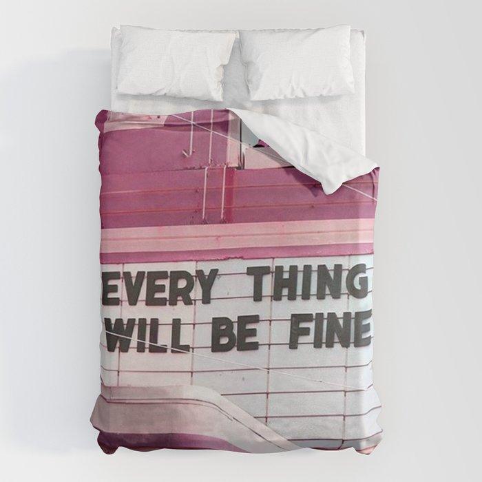 Every Thing Will Be Fine Bettbezug