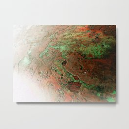 A Quick Visit To Mars! Metal Print