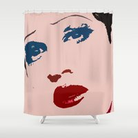 hedwig Shower Curtains featuring Darren is Hedwig! by byebyesally