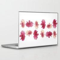 daisies Laptop & iPad Skins featuring Daisies by Cordula Kerlikowski