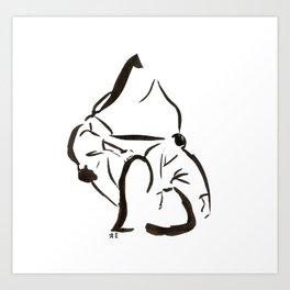 Aikido Series - 3 Art Print