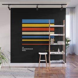 Stripes   Bauhaus V Wall Mural
