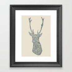 Deer. Framed Art Print