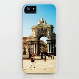 Lisboa #4 iPhone Case