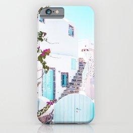 Love Santorini iPhone Case