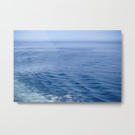 She Fell in Love on the Vast Wild Sea Metal Print
