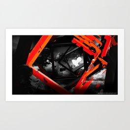 Who is Watching Art Print
