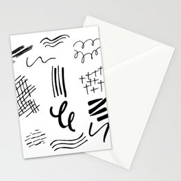 shapes be takin ova Stationery Cards