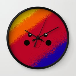 Red Mouse Wall Clock