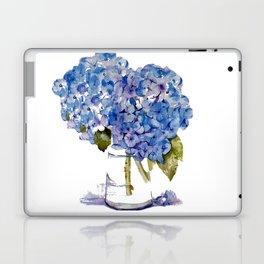 Cape Cod Hydrangea Large Canvas Laptop & iPad Skin