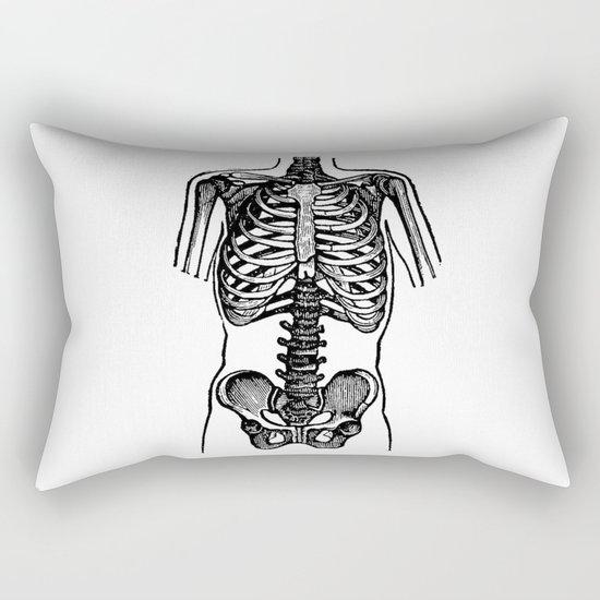 Bones. Rectangular Pillow