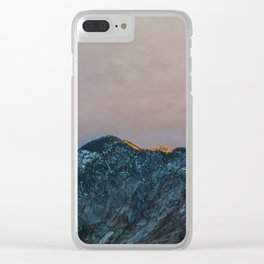 Last Light Clear iPhone Case