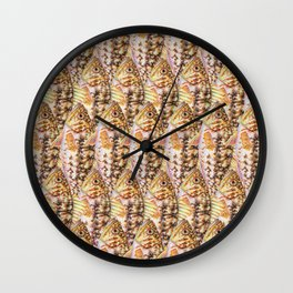 Rainbow Kelp Bass Wall Clock