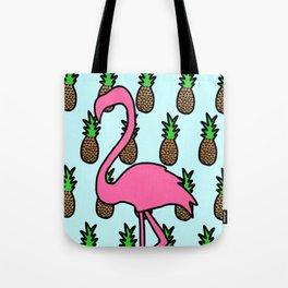 Let's Flamingle Tote Bag