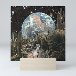 A DISTANT VIEW Mini Art Print
