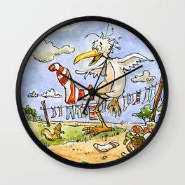 Jacques Socks Wall Clock
